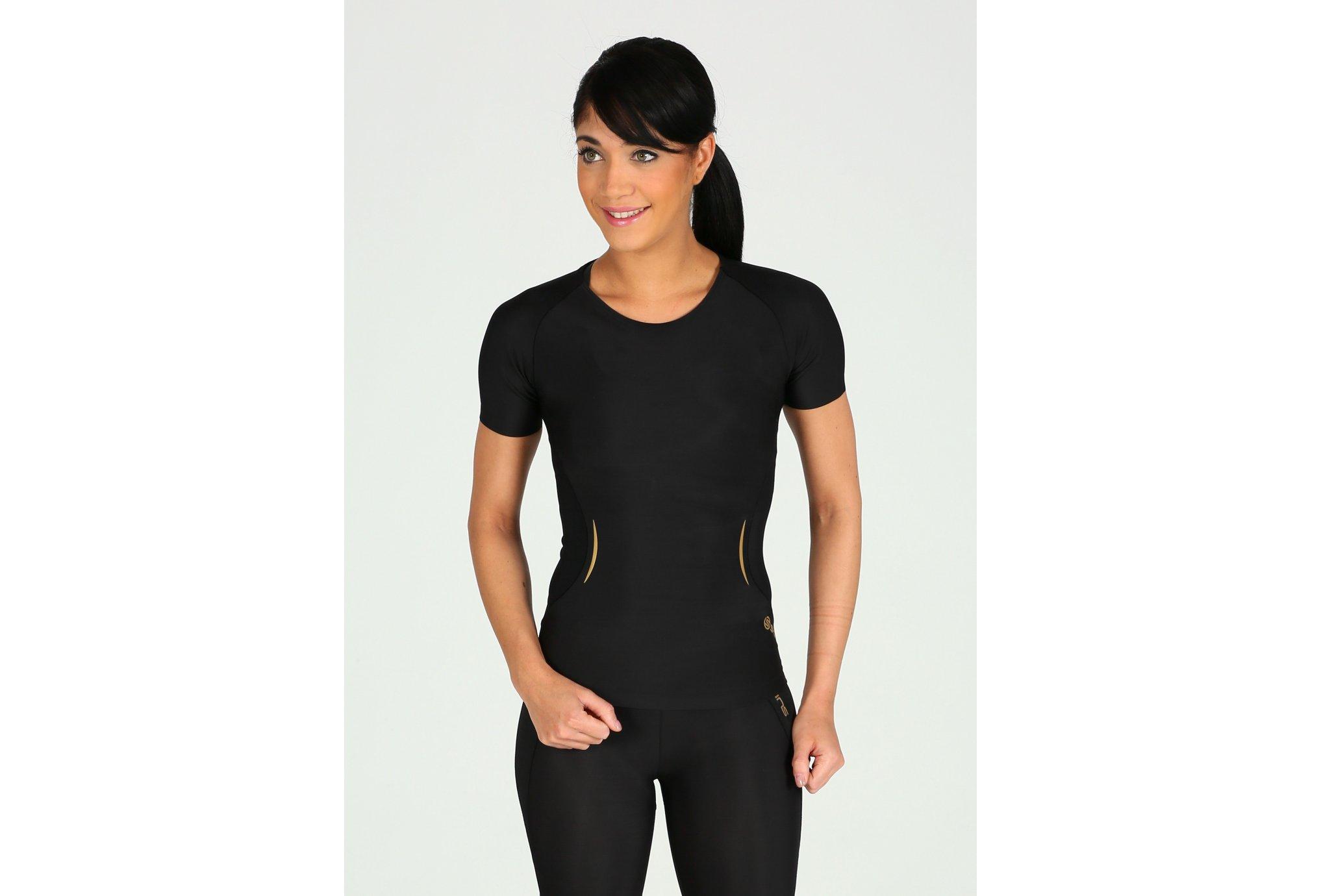 Skins A400 top w vêtement running femme