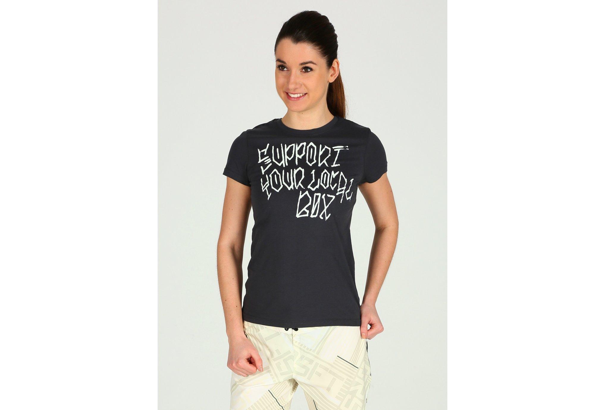 Reebok Crossfit Support Your Local Box W Diététique Vêtements femme