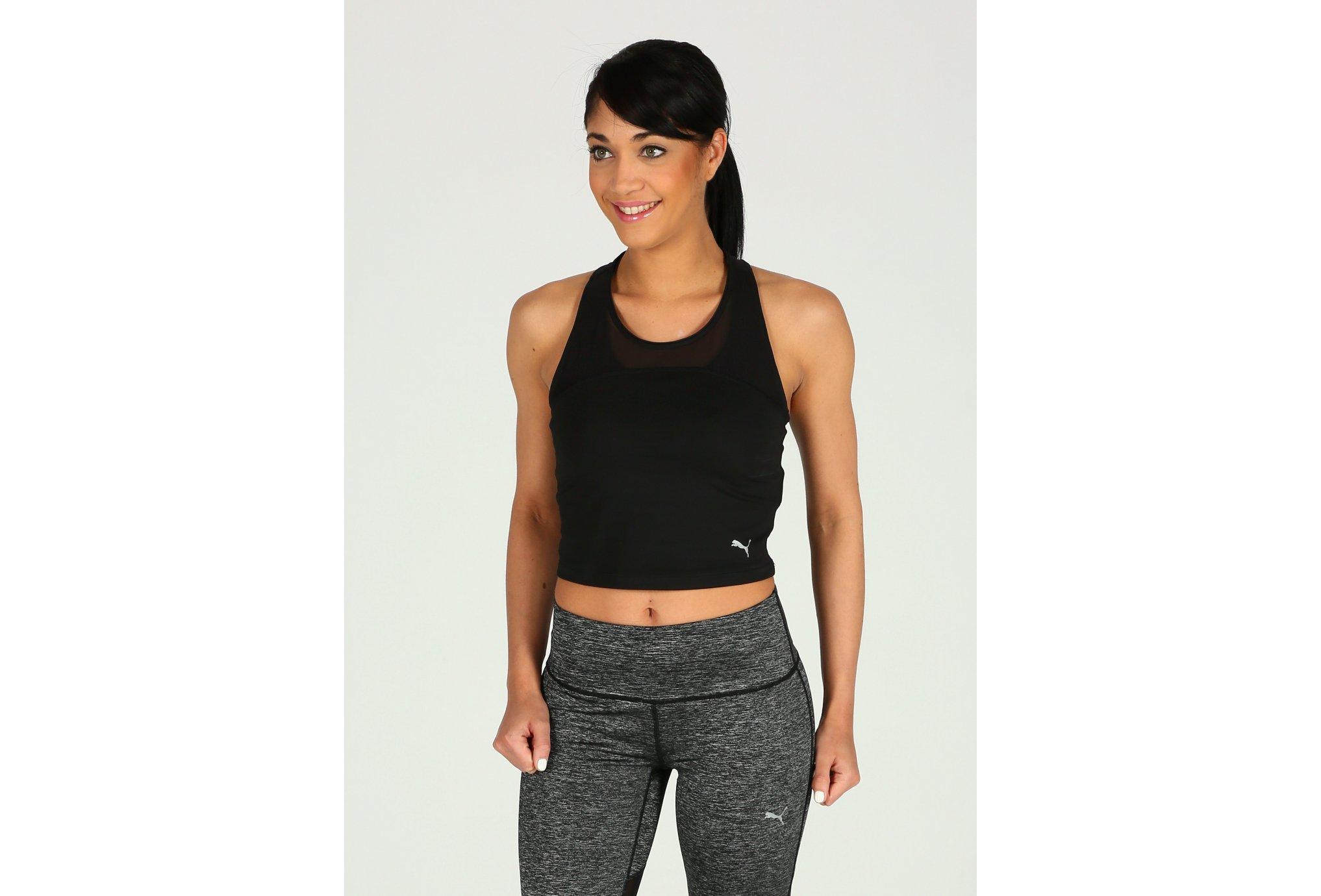 Puma Explosive Run Crop W Diététique Vêtements femme