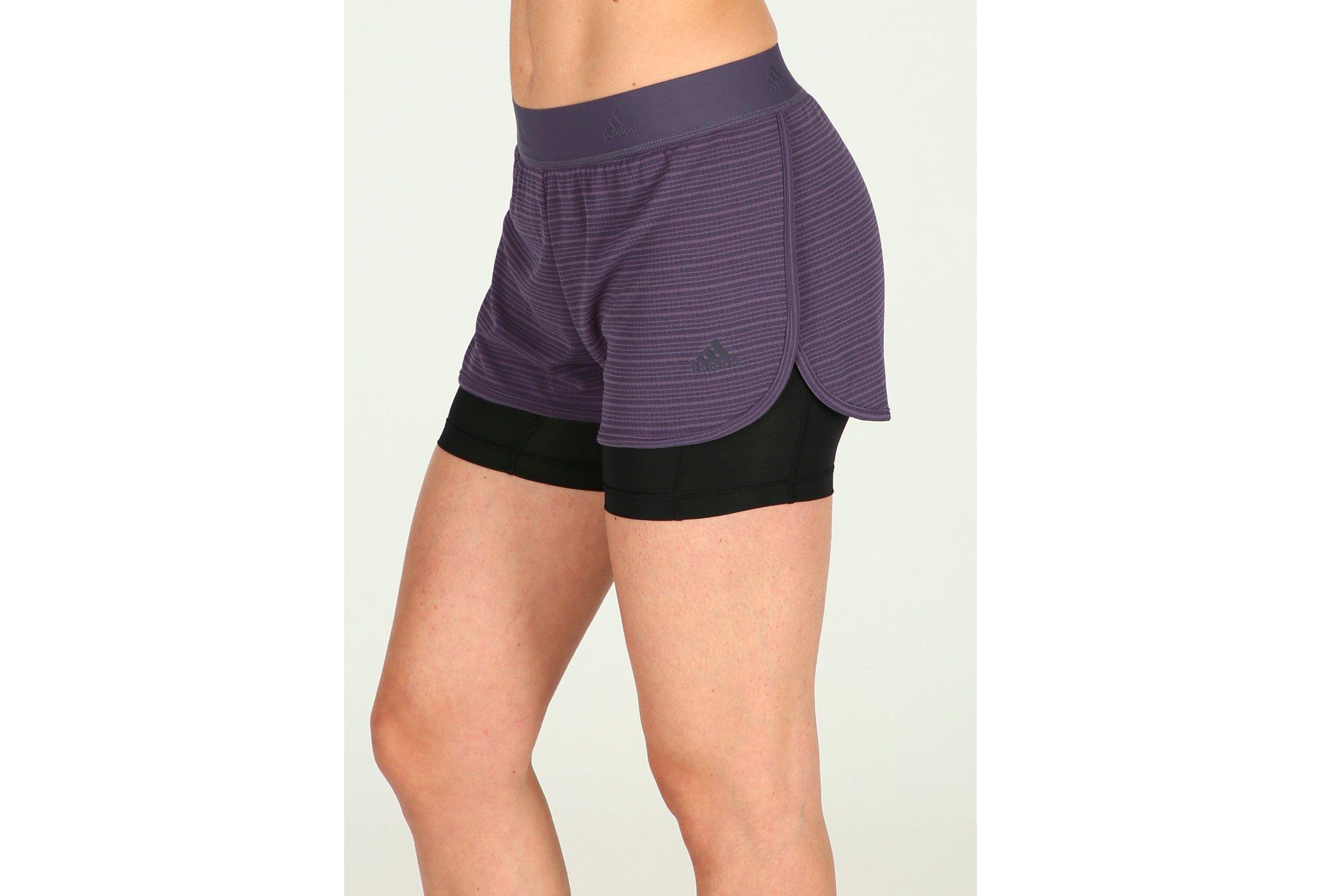 Adidas 2en1 chill w vêtement running femme