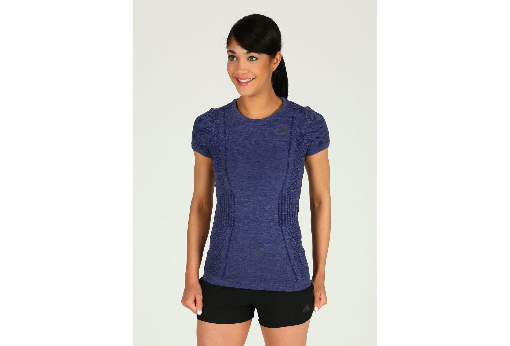 adidas Tee-Shirt AS Primeknit W vêtement running femme