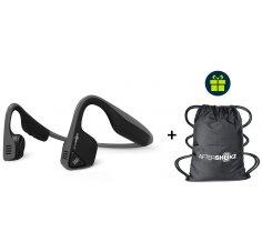 Aftershokz Pack Trekz Titanium + Sac de sport offert