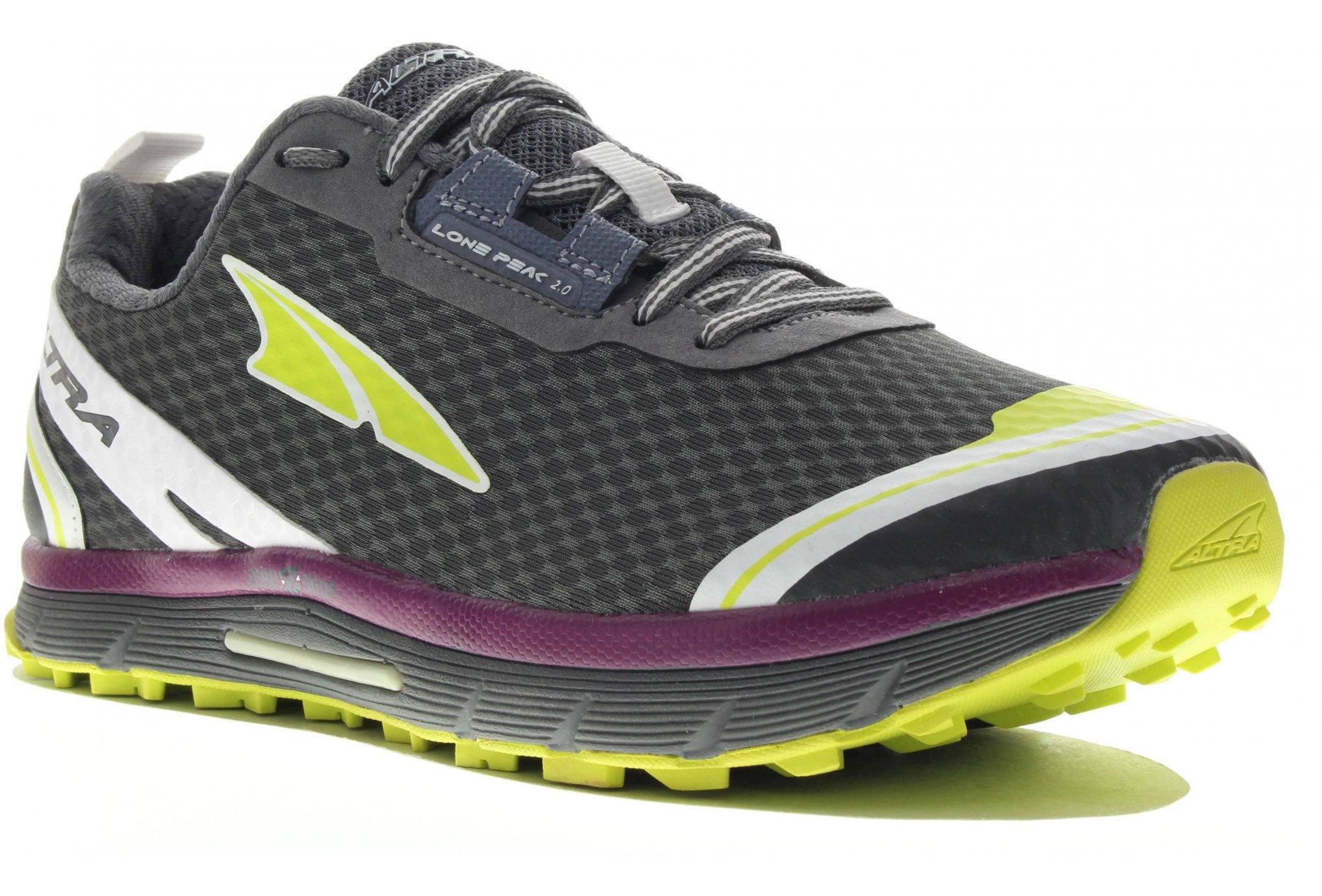 Altra Lone peak 2.0 neoshell w diététique chaussures femme