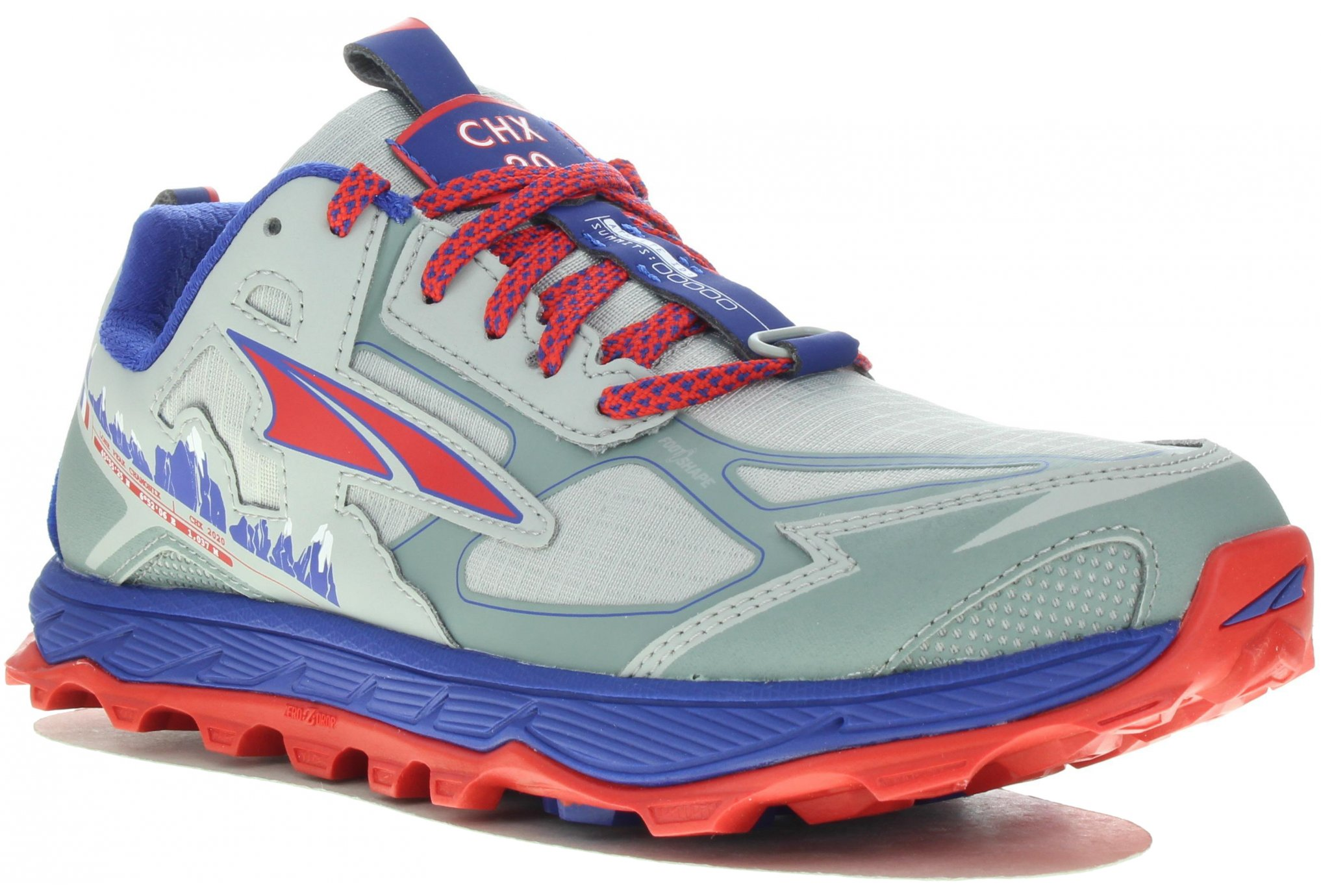 Altra Lone Peak 4.5 Chamonix W Chaussures running femme