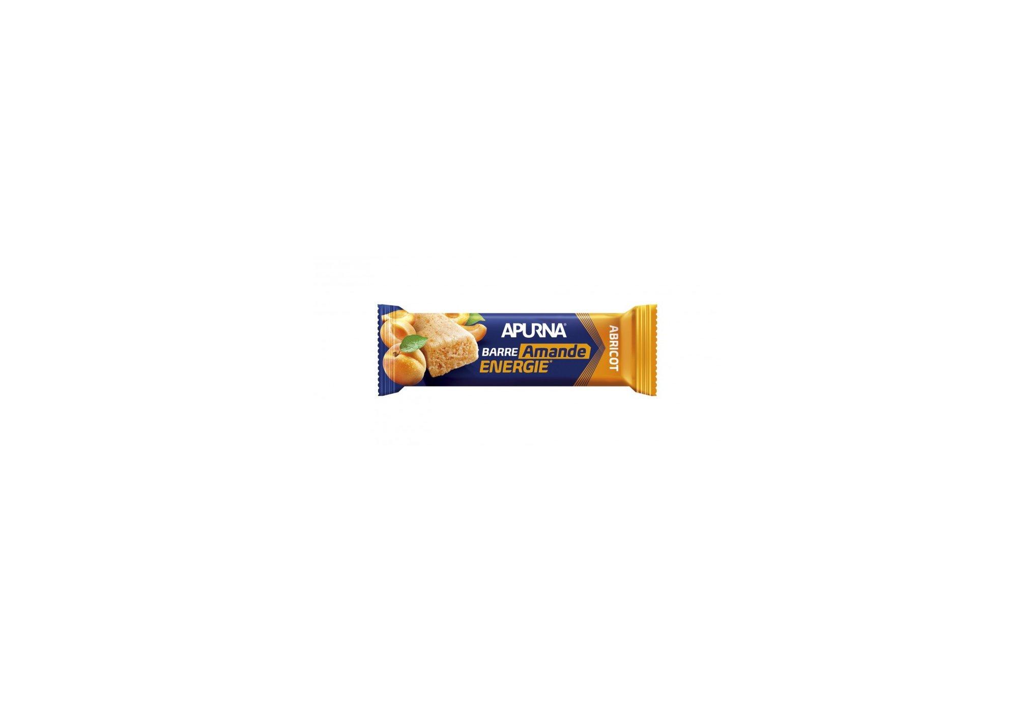 Apurna Barre énergétique - Abricot/Amande Diététique Barres