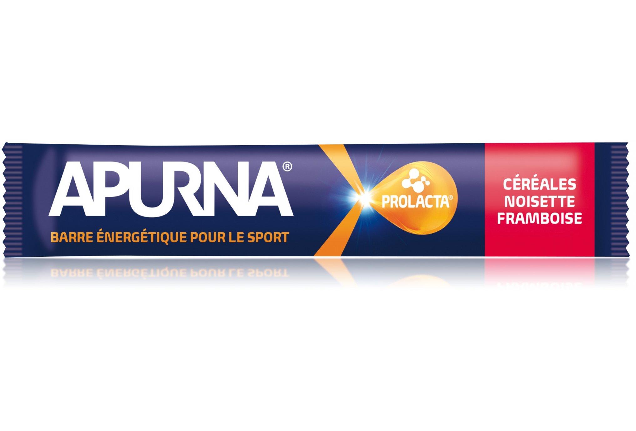Apurna Barre énergétique - céréales/noisette/framboise diététique barres