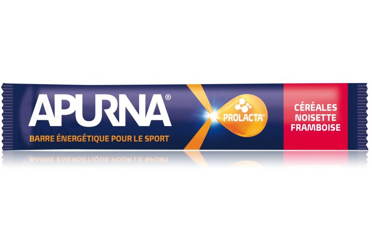 Apurna Barre énergétique - Céréales/Noisette/Framboise