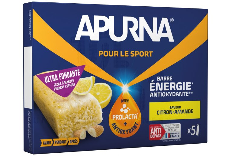 Apurna Barres énergétiques - Citron/Amande