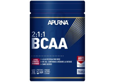 Apurna BCAA 2.1.1 - Fruits rouges - 400 g