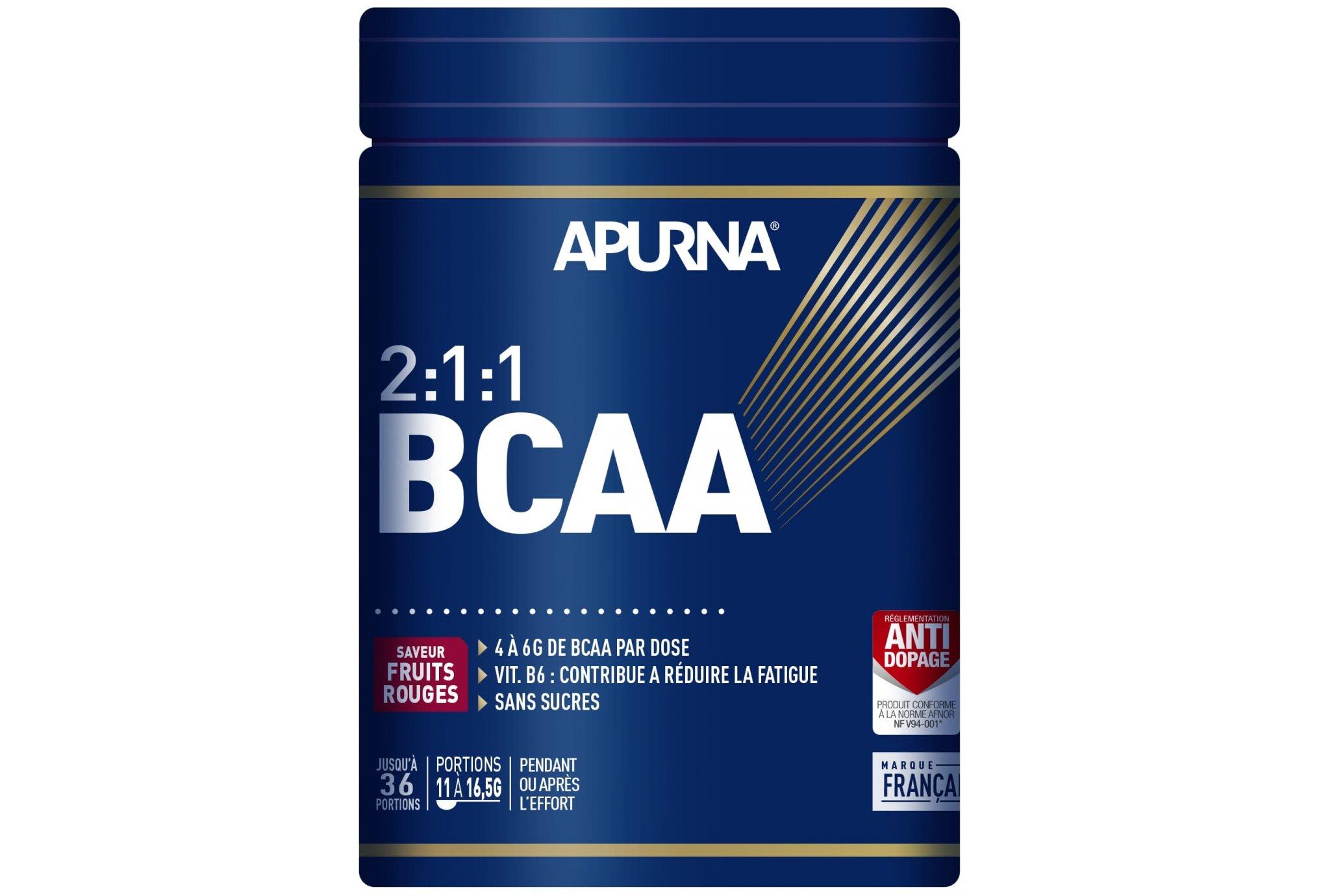 Apurna BCAA 2.1.1 - Fruits rouges - 400 g Diététique Protéines / récupération