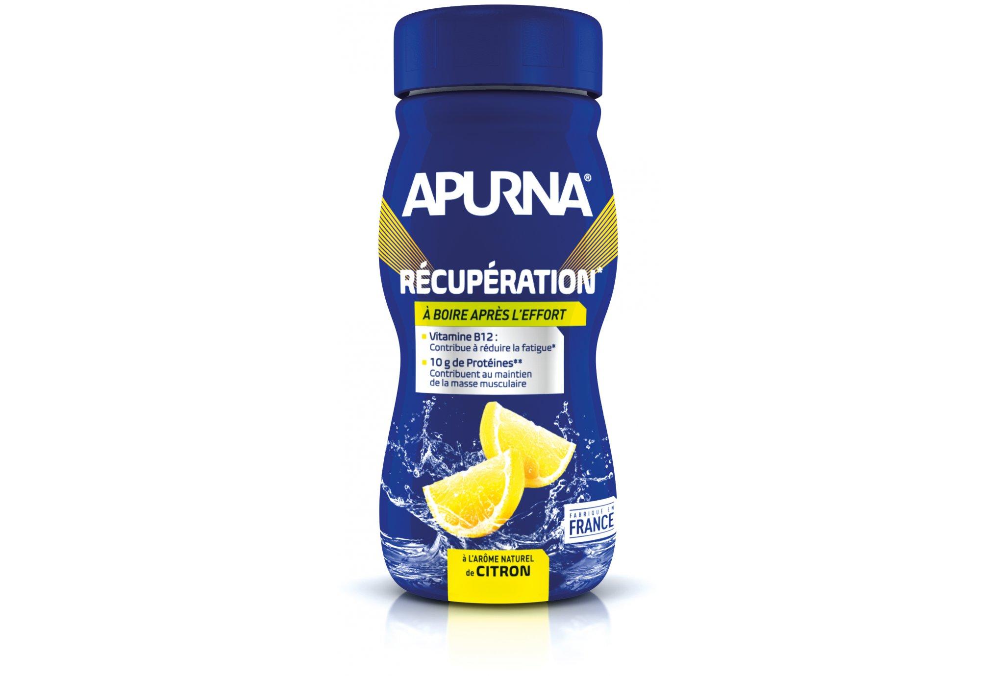 Apurna Boisson récupération - citron diététique protéines / récupération