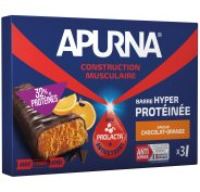 Apurna Etui Barre Hyperprotéinée - Chocolat/Orange