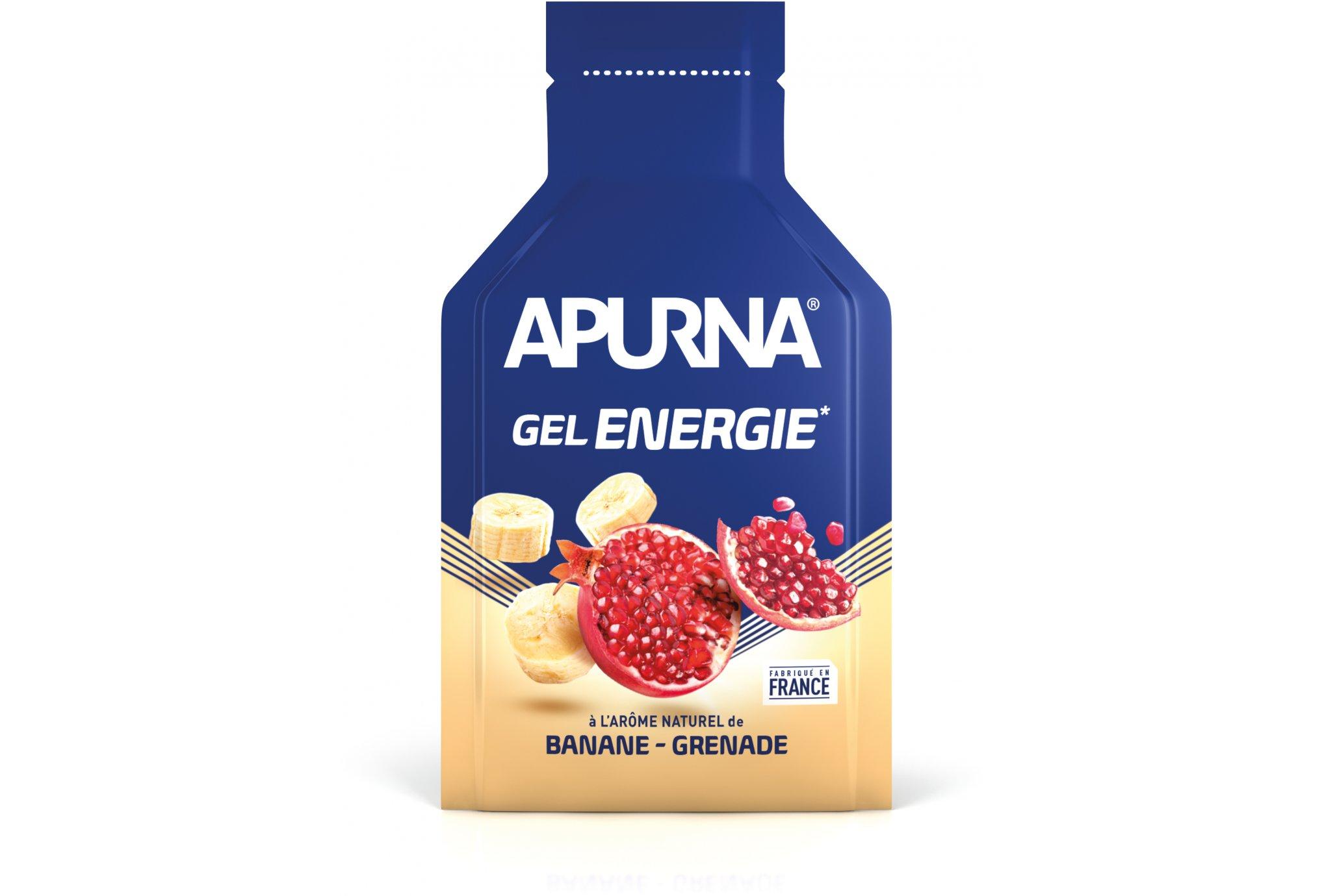 Apurna Gel energie - banane grenade diététique gels