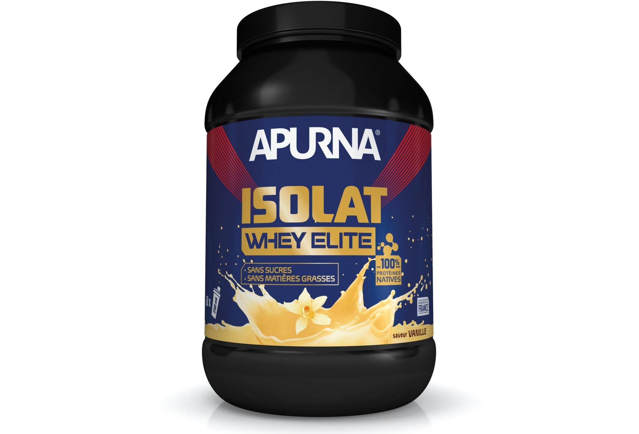 Apurna Isolat whey elite - vanille diététique protéines / récupération