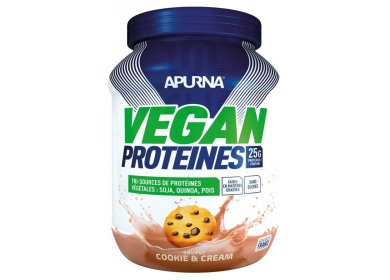 Apurna Vegan Protéines - Cookie Cream