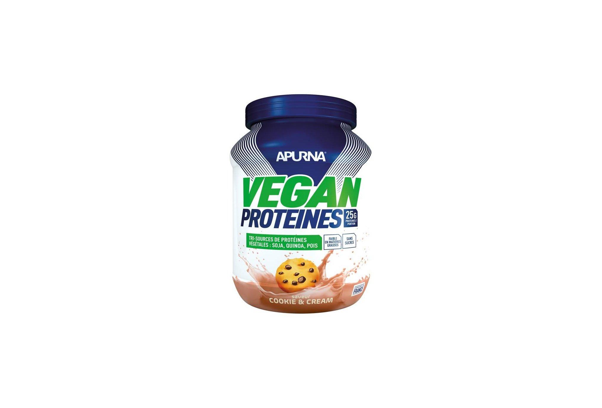 Apurna Vegan Protéines - Cookie Cream Diététique Protéines / récupération