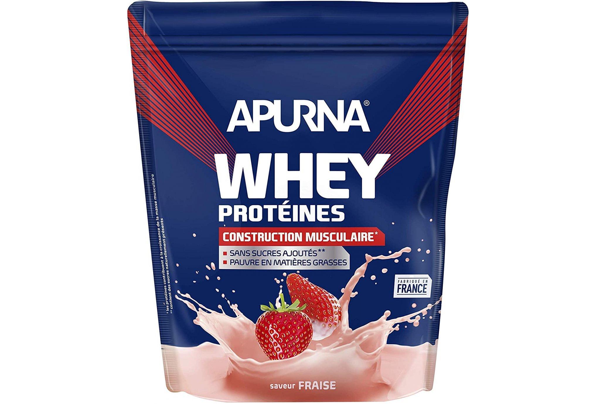 Apurna Whey protéines Fraises - 720 g Diététique Protéines / récupération