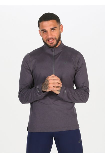 Asics camiseta manga larga 1/2 Zip Jersey