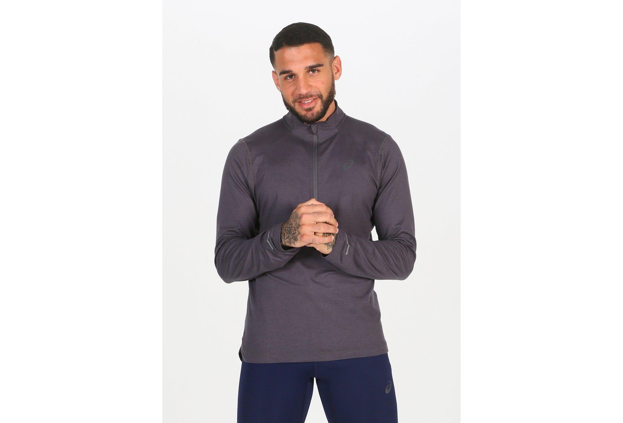 Asics 1/2 Zip Jersey M vêtement running homme