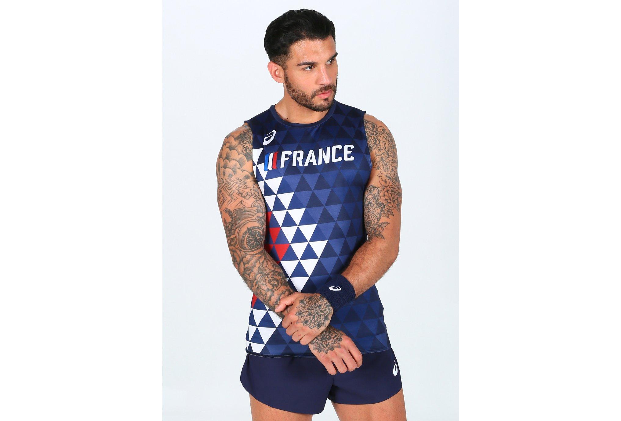 Asics 2 Way Stretch France M vêtement running homme