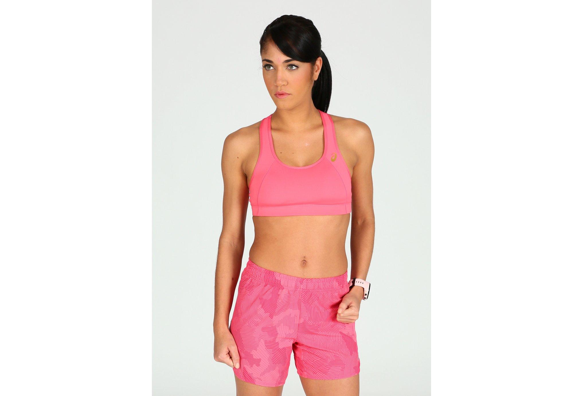 Asics Brassière Sports W Diététique Vêtements femme