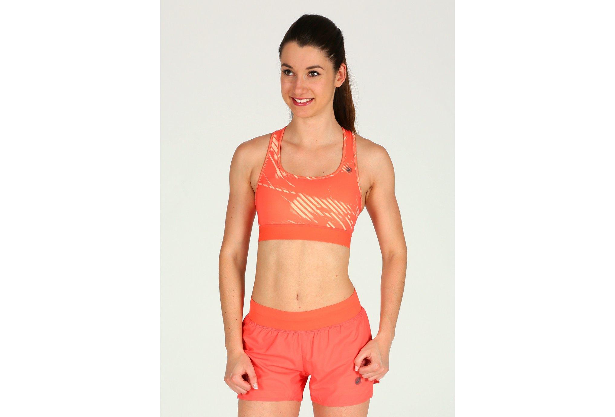Asics Brassière vêtement running femme