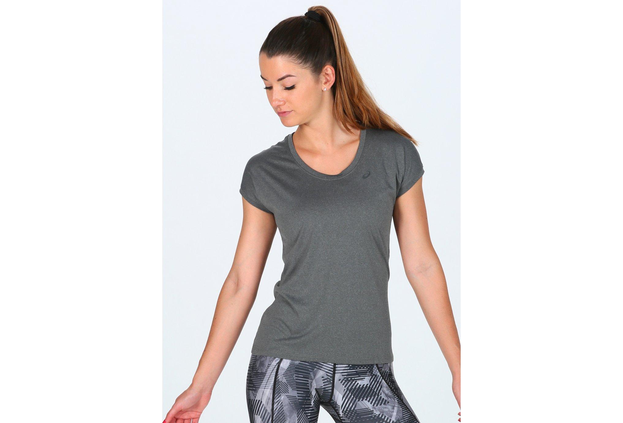 Asics Capsleeve w vêtement running femme