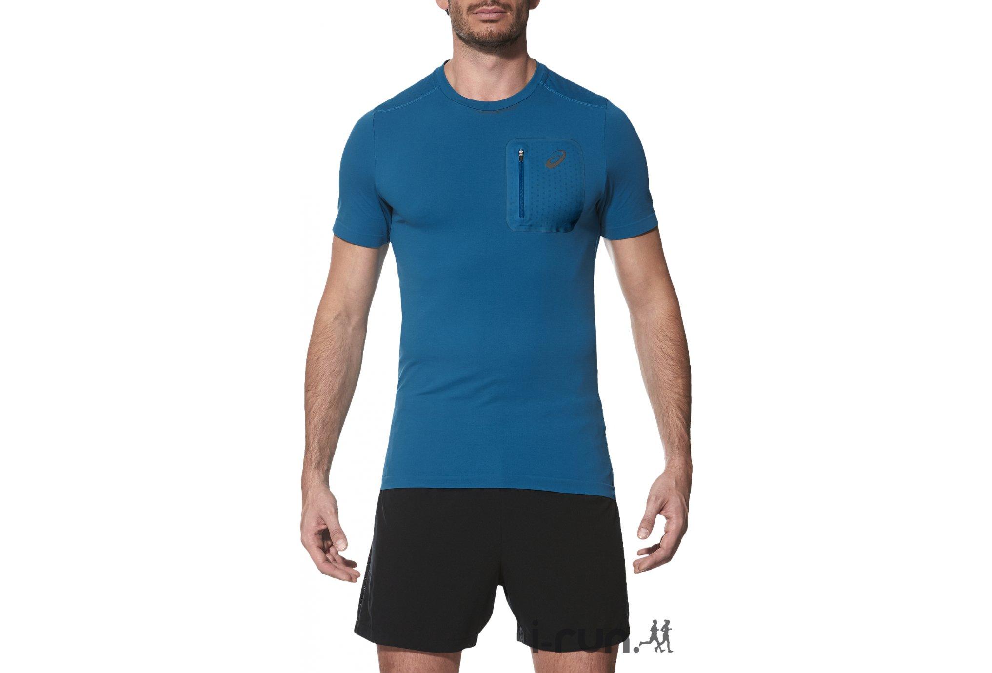 Asics Elite SS Top M vêtement running homme
