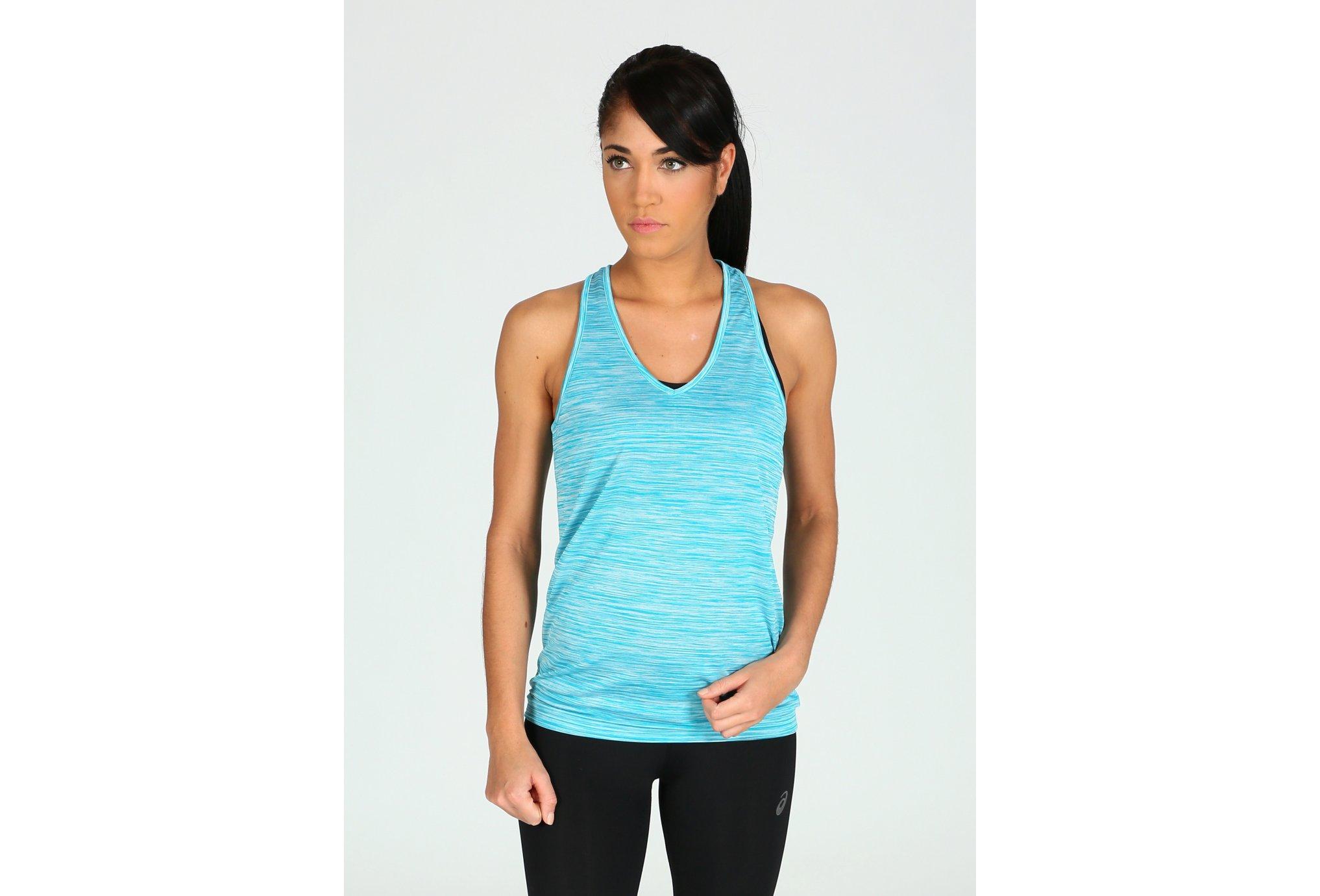 Asics FuzeX Layering Tank W Diététique Vêtements femme