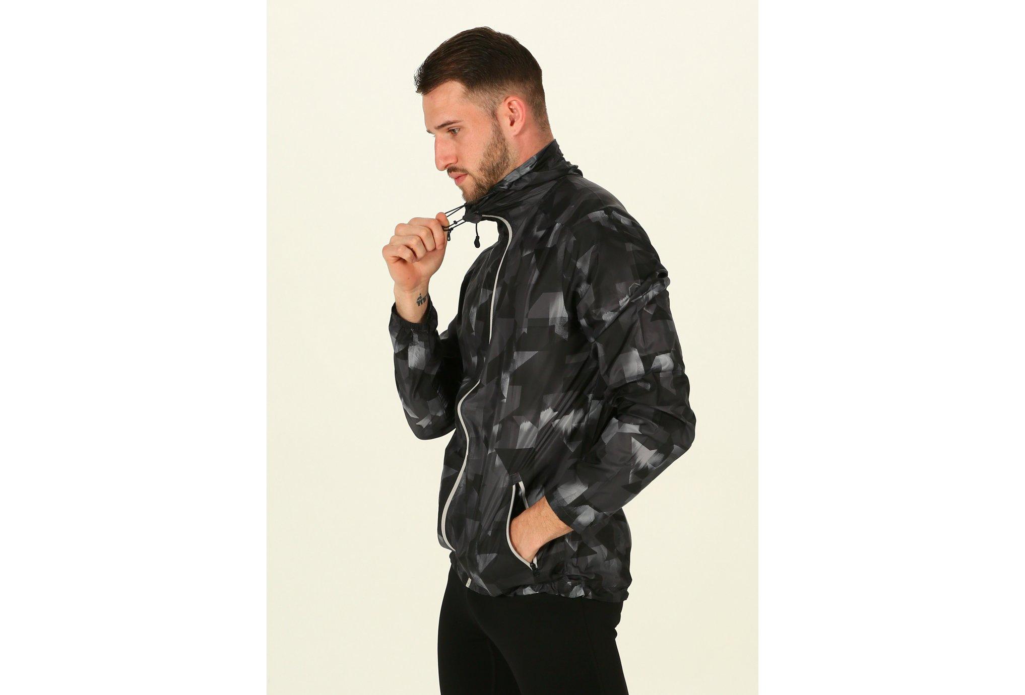 Asics FuzeX Packable JKT M Diététique Vêtements homme