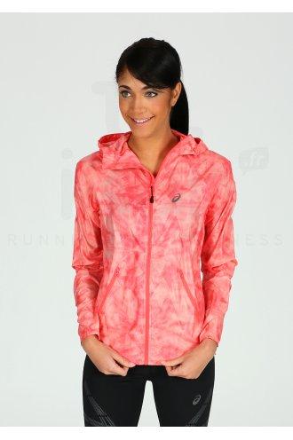 Pas Asics Cher Destockage Running W Jkt Fuzex Vêtements Packable 4q4gU