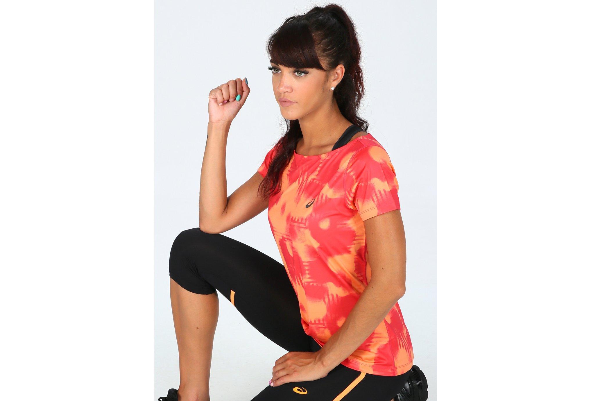 Asics FuzeX Printed W vêtement running femme