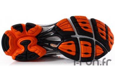 asics gel cumulus 13 homme orange noir