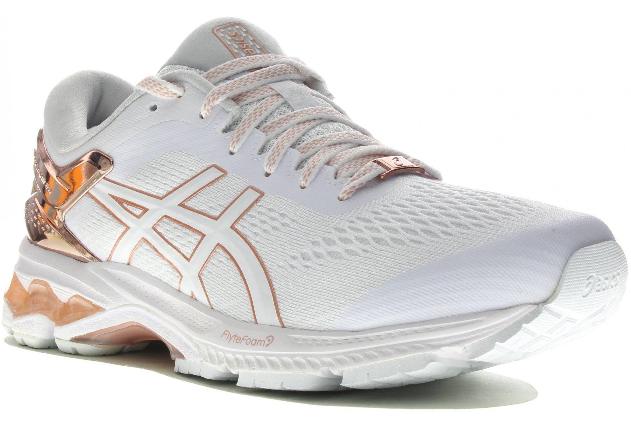 Asics Gel Kayano 26 Platinum Chaussures running femme