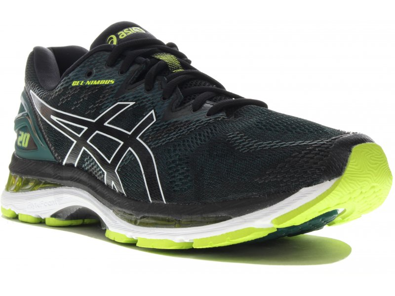 asics gel nimbus 20 m chaussures homme running route chemin asics gel nimbus 20 m. Black Bedroom Furniture Sets. Home Design Ideas