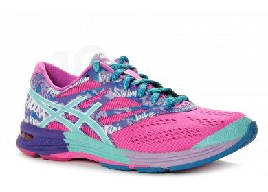 Femme Asics Gel Noosa Tri 10 femme Rose Chaussures de sport