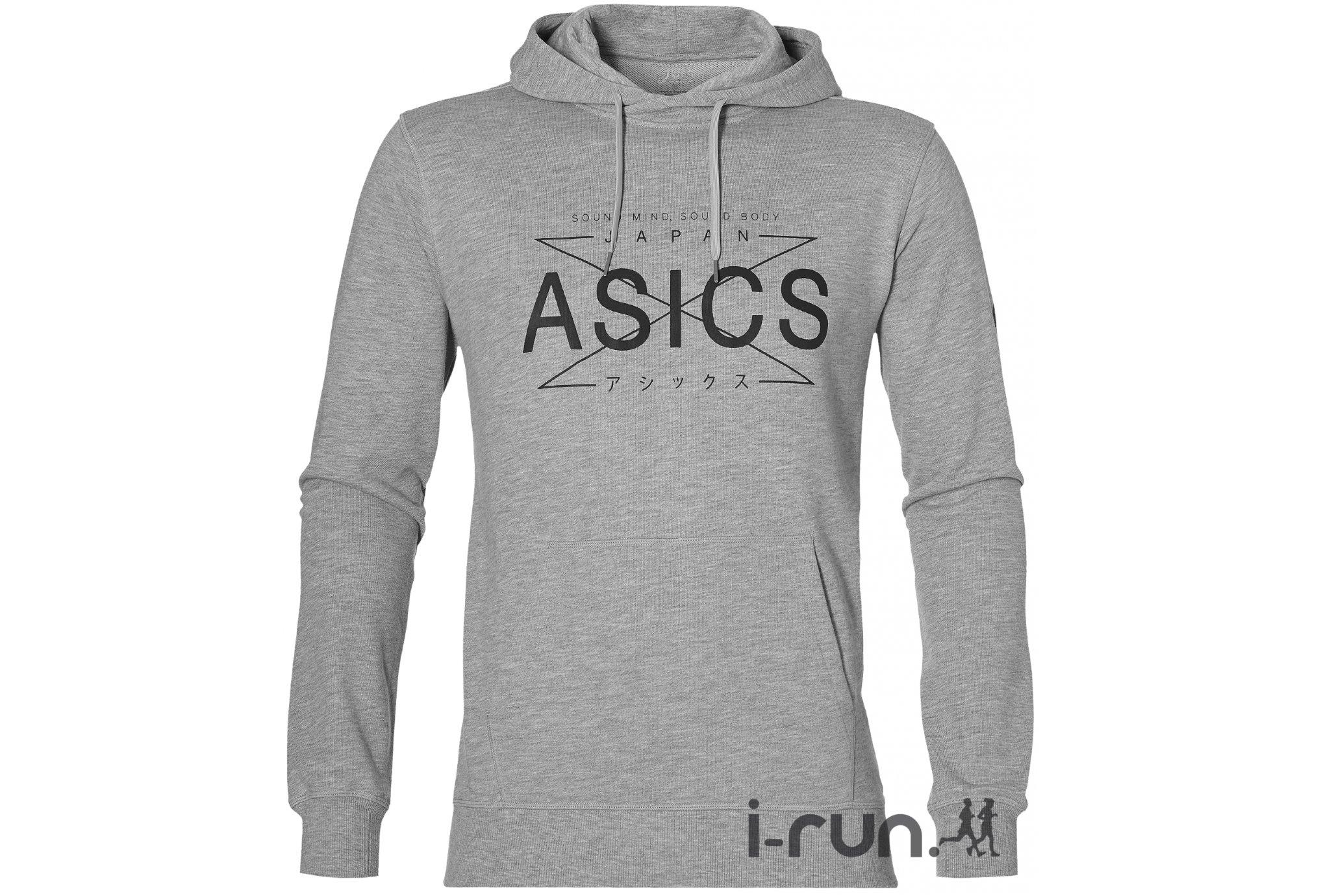 Asics Graphic Hoody M vêtement running homme