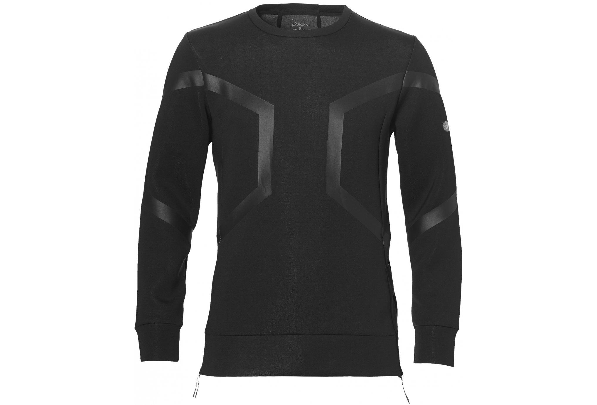 Asics Hexagon crew top m vêtement running homme