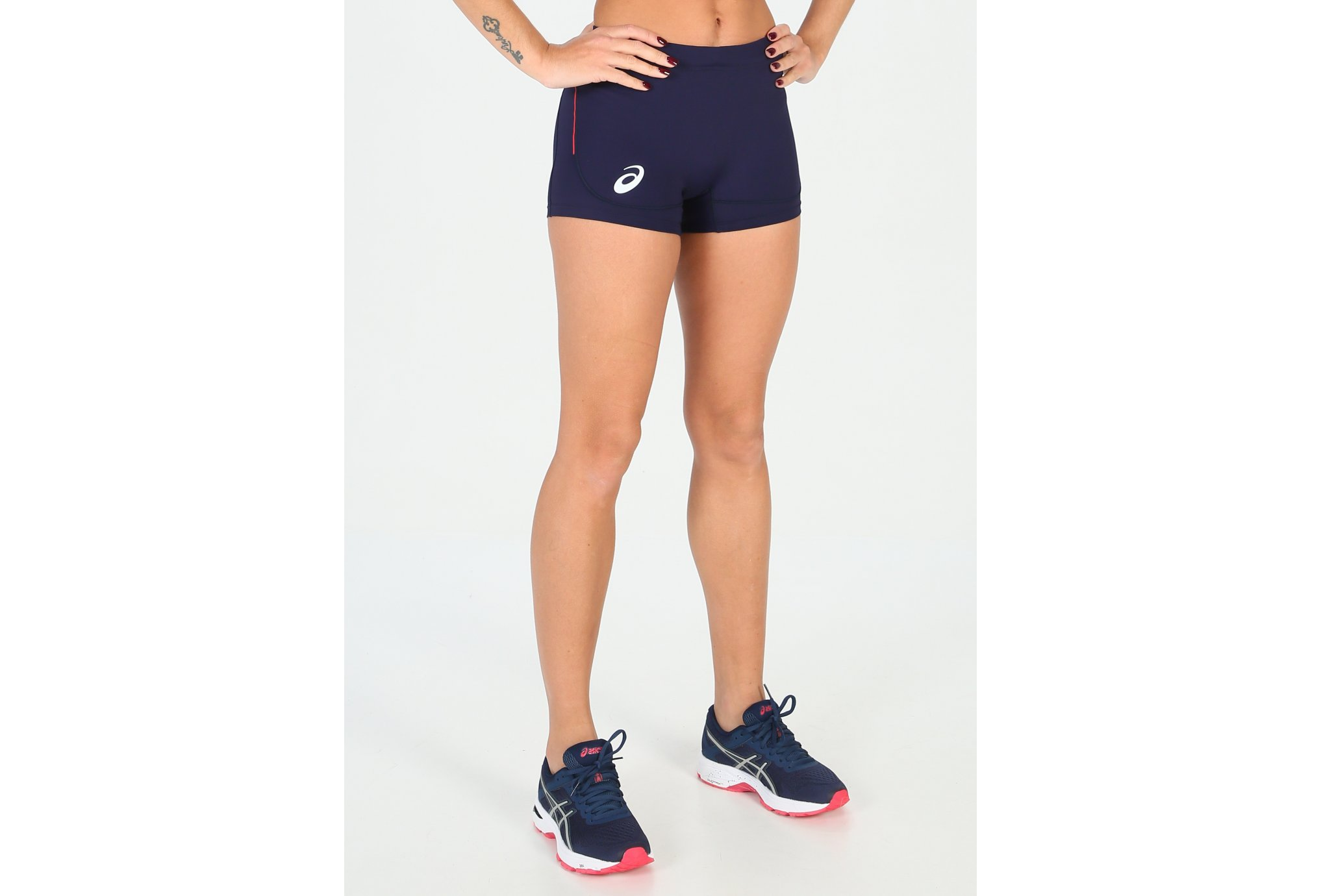 Asics Hot Pants Équipe de France W vêtement running femme