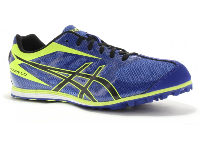 Asics Homme Jaune Chaussures Athlétisme Et Cross Hyper Ld 5