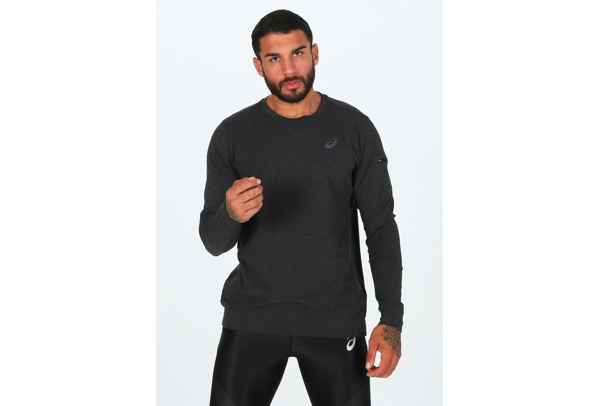 Asics Knit Train Crew M Diététique Vêtements homme