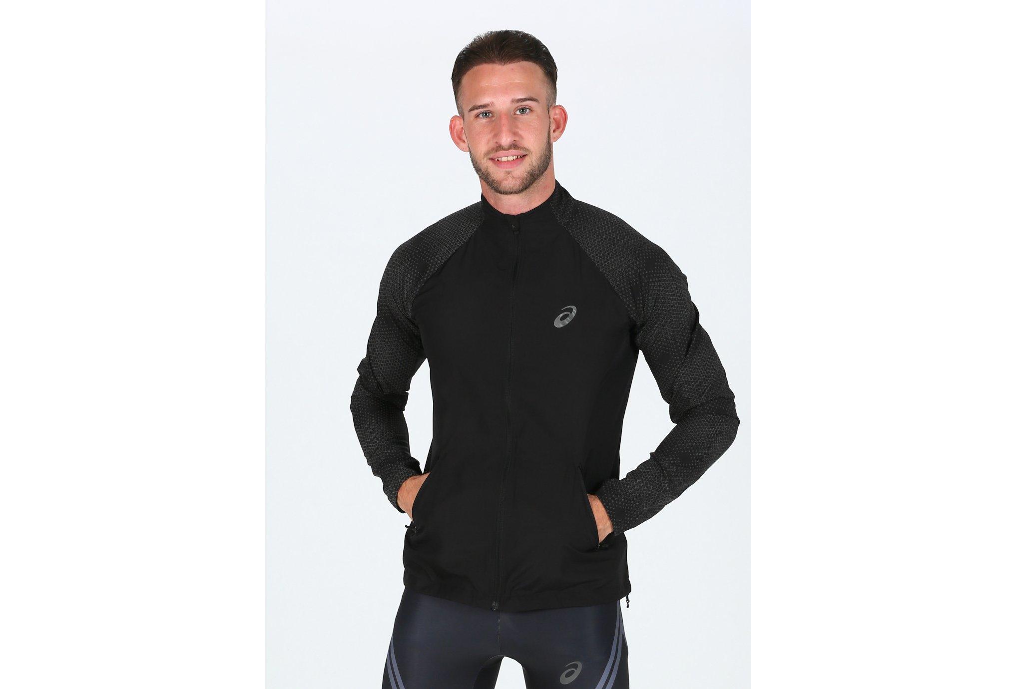 Asics Lite-Show Jacket M Diététique Vêtements homme