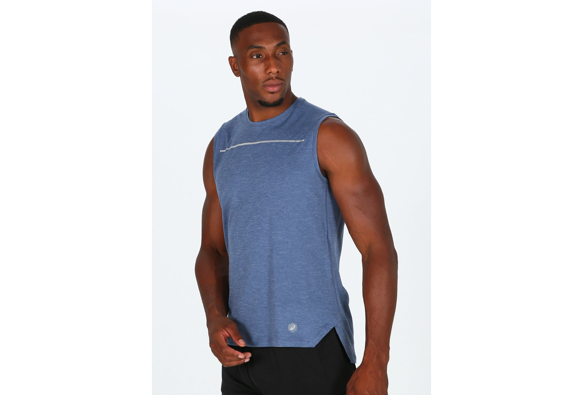 Asics Lite-Show Sleeveless M vêtement running homme