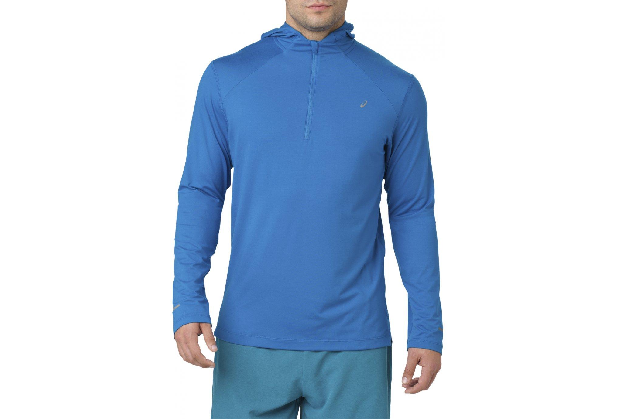 La Fortifiée - Asics LS Hoodie M vêtement running homme 37d371ac8f7d
