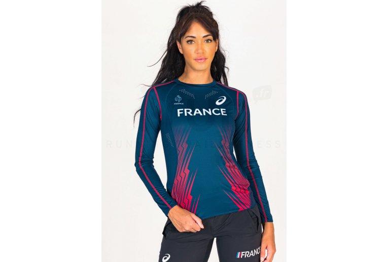 Asics Maillot manches longues Équipe de France W