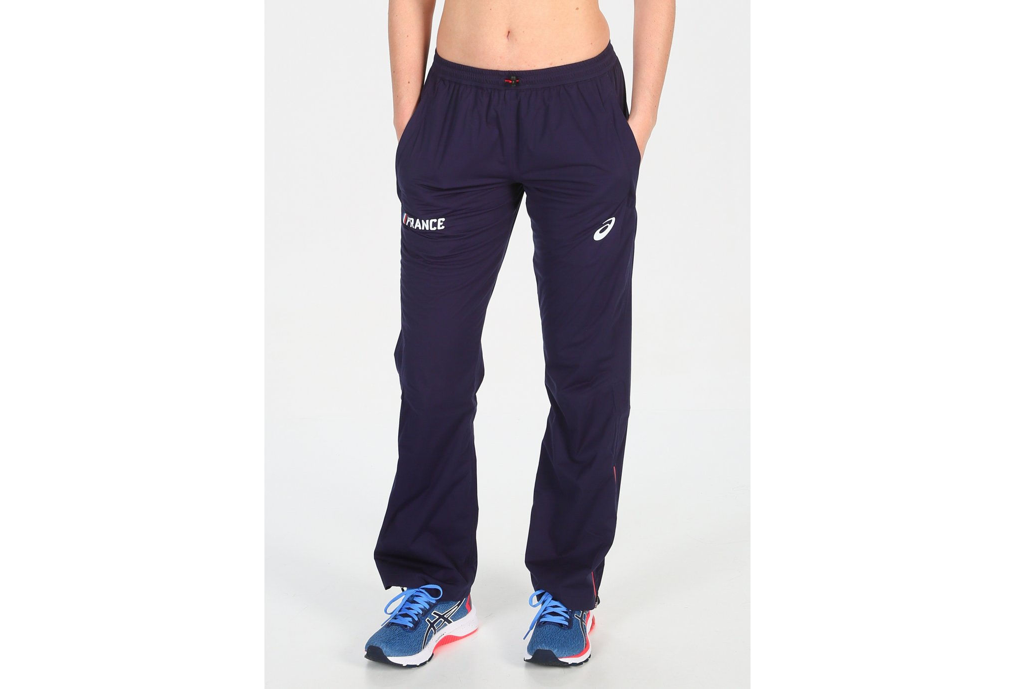 Asics Rain Pants France W vêtement running femme