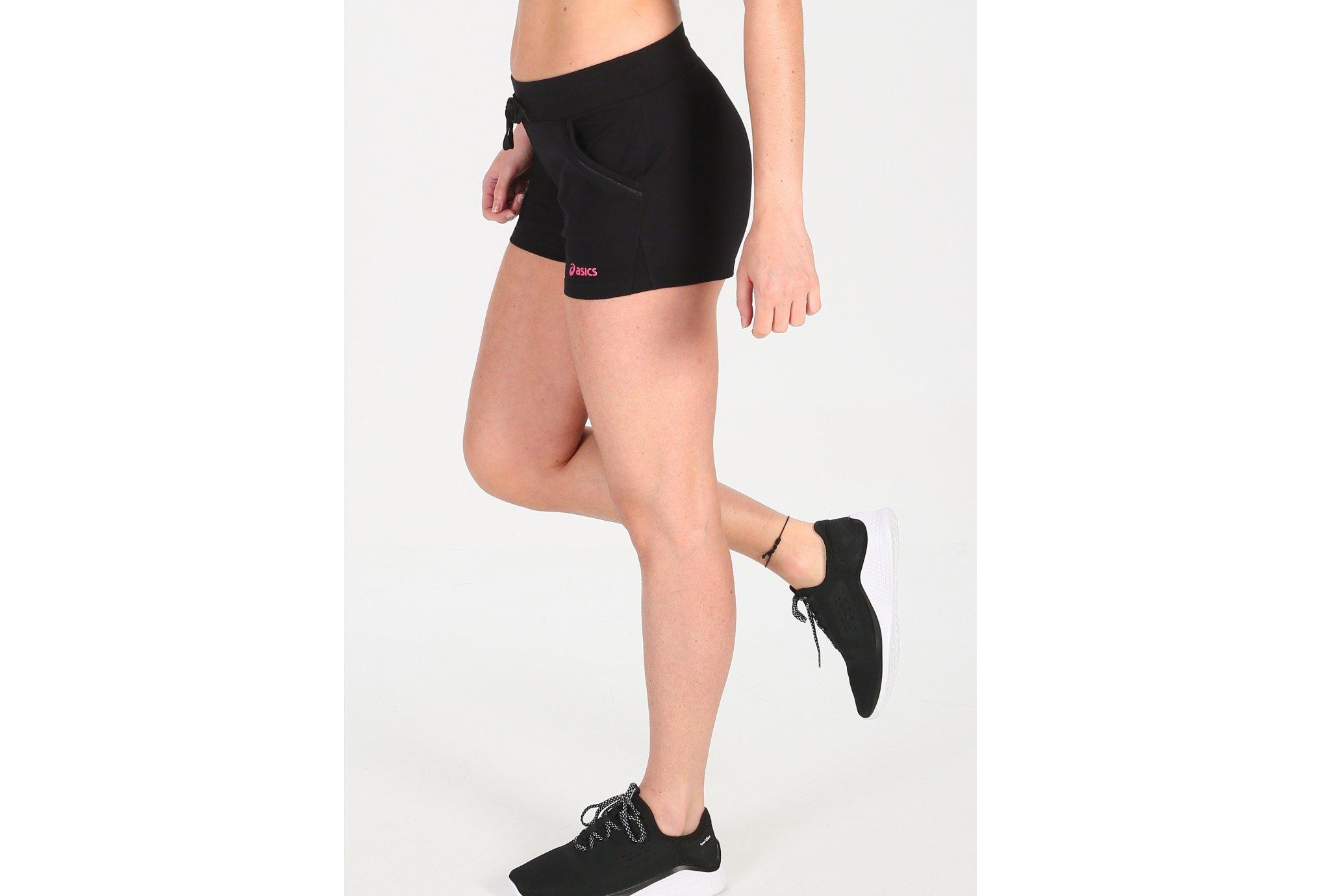 Asics Short Knit W vêtement running femme