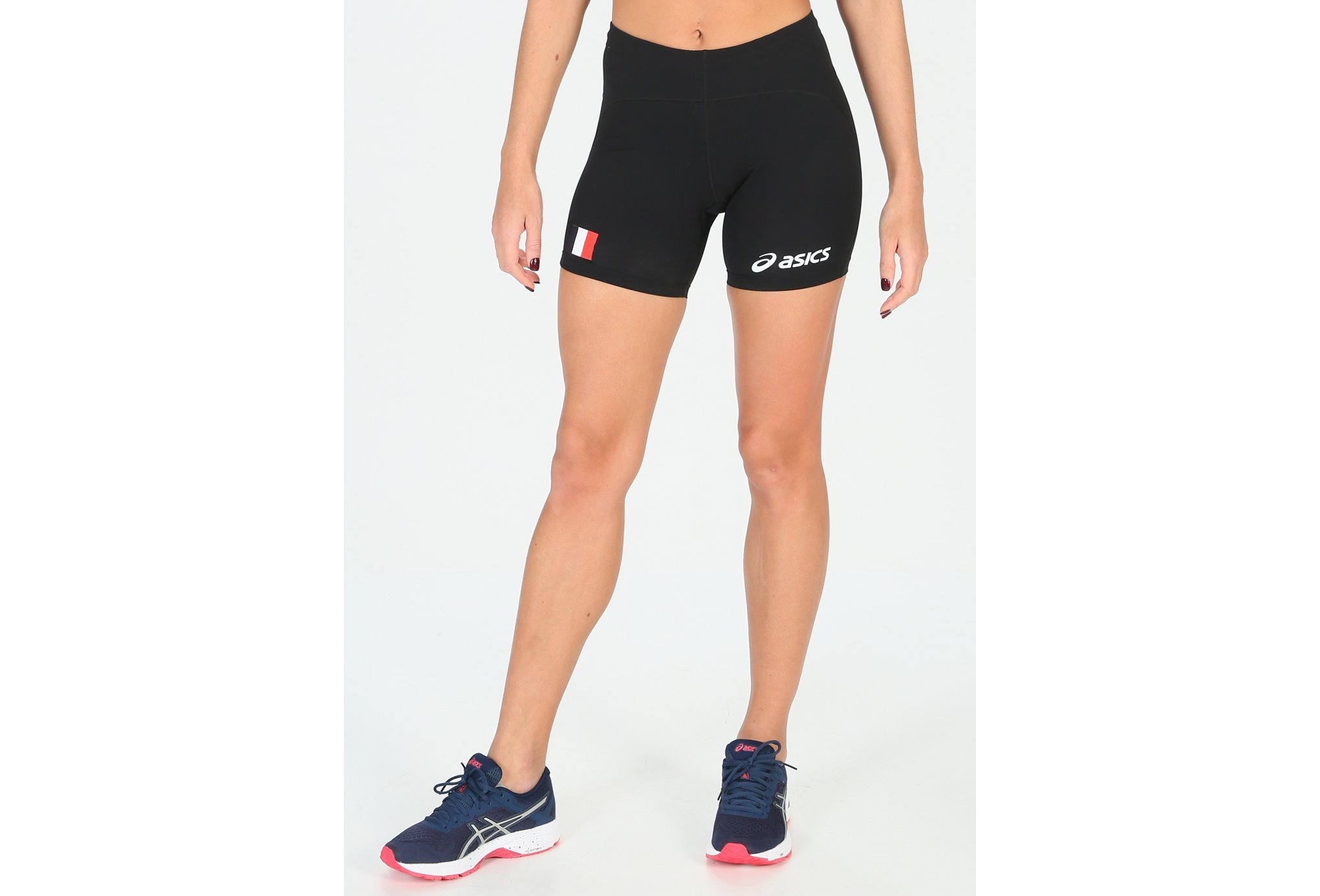 Asics Short Sprinter Equipe de France W vêtement running femme