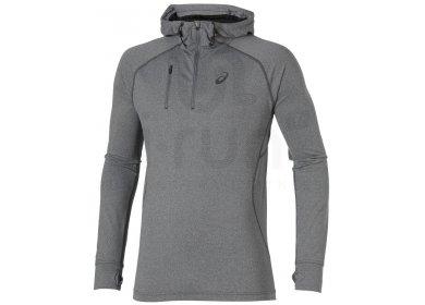420dcfa37efd8 Asics Sweat à capuche 1 2 Zip M pas cher - Vêtements homme running ...