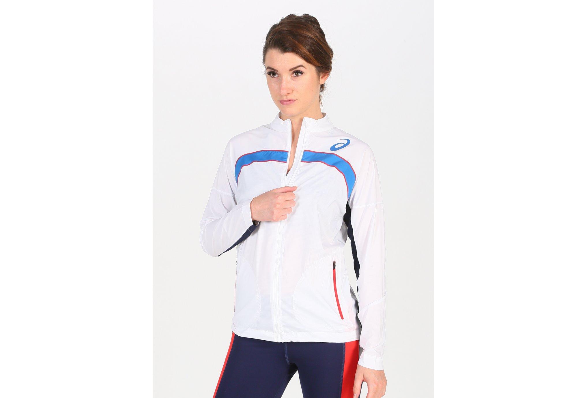 Asics T&F Équipe de France W vêtement running femme